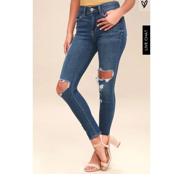 Pistola Denim - Pistola A Line High Rise Skinny Jeans